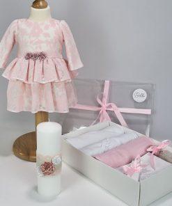Trusou Botez Complet Pink Rose
