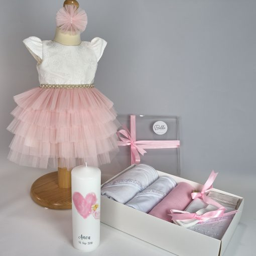 Trusou Complet Botez-Pink angel2