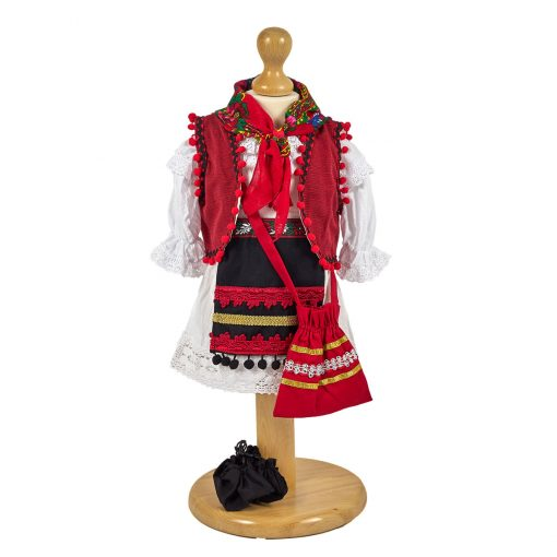 Costum traditional national popular romanesc fete