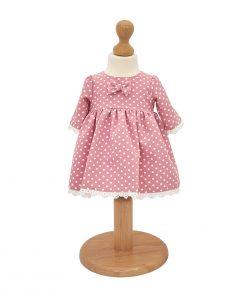 rochita botez cu buline roz