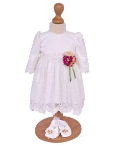 rochita botez alba din dantela
